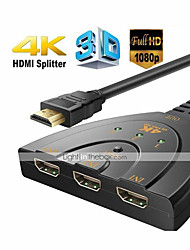 cheap -HDMI Switch Switcher Splitter  3 In 1 Out Split Signal Adapter Cable