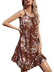 cheap -2020 cross-border european and american women's a-line skirt ebay amazon wish source sleeveless suspender dress