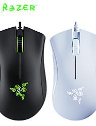 cheap -razer deathadder essential wired gaming mouse 6400dpi ergonomic professional-grade optical sensor razer mice for computer laptop
