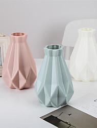 cheap -Irregular Creative PE Flower Vase Living Room Flower Vase Break-proof Vase 1pc 14x20cm