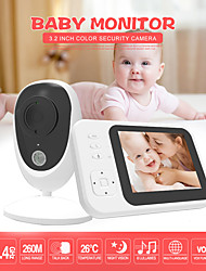 cheap -3.5-inch Wireless Digital Baby Monitor Two-way Intercom Music Room Temperature Monitor Night Vision Zoom Expansion Head