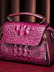 cheap -westal crocodile pattern bag female bag new 2021 crossbody leather handbag with the same paragraph shoulder crossbody bag