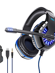 cheap -OVLENG GT82 Gaming Headset USB 3.5mm Audio Jack PS4 PS5 XBOX Ergonomic Design Retractable Stereo for Apple Samsung Huawei Xiaomi MI  PC Computer Gaming