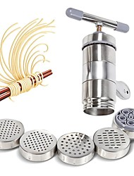 cheap -Noodle Maker Manual Stainless Steel Noodle Maker Press Pasta Machine Crank Cutter Fruits Juicer Cookware Making Spaghetti DIY Kitchen Tools