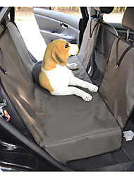 cheap -Dog Cat Pets Dog Cat Car Seat Cover Pet Backseat Cover Waterproof Washable Durable Solid Colored Classic Oxford Cloth puppy Small Dog Medium Dog Training Outdoor Driving Black