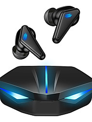 cheap -K55 Wireless Mobile Gaming Earbuds TWS Bluetooth 5.0 True Wireless Headphones Game & Music Dual-Mode Headset with Breathing Light HiFi Sound Quality for PUBG, Fortnite, Call of Duty Mobile Gamers