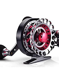 cheap -edtara fly reel automatic wire spread 10+1 bb aluminum alloy left hand ice fishing raft reel