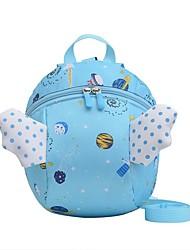 cheap -Boys' Girls' Nylon Mini Backpack Lightweight Zipper Daily Blue Red Blushing Pink Dark Blue