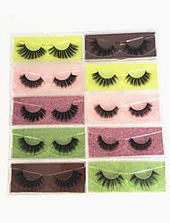 cheap -Mink Eyelashes 20Pcs 3D Mink Lashes Natural False Eyelashes Messy Fake Eyelashes Makeup 10Pairs False Lashes In Bulk