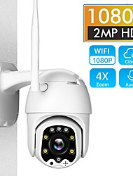 cheap -ip camera 5mp surveillance cameras with wifi pan tilt camera outdoor h.265 2mp 4x digital zoom ai body detection