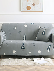 cheap -Sofa Cover Stretch Slipcovers Contracted Print Dustproof Super Soft Fabric Couch Cover Fit for 1to  4 Cushion Couch and L Shape Sofa (You will Get 1 Throw Pillow Case as free Gift)