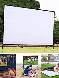 cheap -60 Inch Projector Simple Curtain Home Outdoor Ktv Office Portable 3d Hd Projector Screen
