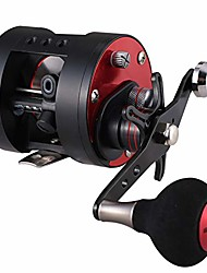 cheap -Fishing Reel Conventional / Trolling Reel / Drum Reel 5.6:1 Gear Ratio 10+1 Ball Bearings Ultra Smooth for Sea Fishing / Powerful