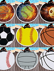 cheap -Microfiber Round Beach Towel Blanket,Digital Printing and High Colour Fastness Super Water Absorbent Large Beach Towel with Football/Basketball Pattern