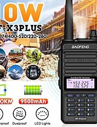 cheap -Camoro Digital Mobile walkie talkie 10w IP67 Baofeng BF-X3plus DMR Tri-Band Ham CB Radio Transceiver Kit walkie talkie 2pcs Black and Yellow Version