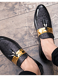 cheap -plus size 2020 spring new european and american men's point toe shoes, plus size nightclub hair stylist trendy men's shoes wholesale