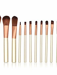 cheap -makeup brush 12-piece travel makeup brush set liquid foundation mixed concealer eye liquid powder cream set with box makeup brush set (color : gold, size : free size)