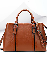 cheap -2020 fashion casual leather women's shoulder bag solid color retro large-capacity handbag factory direct sales 3106