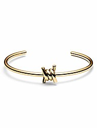 cheap -mvmt women's stainless steel bracelet with single barbed cuff and open closure