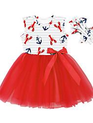 cheap -amazon cross-border supply sleeveless girls dresses printed sweet princess dress manufacturers wholesale girls gauze skirt