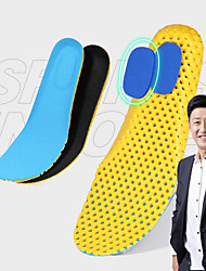 cheap -Shoe Inserts Running Insoles Women's Men's Cellular Sports Insoles Foot Supports Shock Absorption Arch Support Stink Prevention for Fitness Gym Workout Running Fall Winter Spring Black Blue
