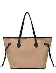 cheap -Women's Bags Tote Top Handle Bag Date Office & Career 2021 Handbags Black Khaki Gray