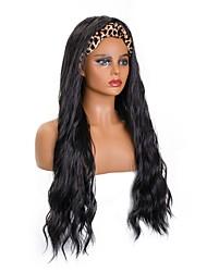 cheap -amazon hair band wig european and american wig long curly hair chemical fiber headscarf wig mechanism headgear