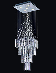cheap -Modern Crystal Chandelier Ceiling Light for Staircase Stair Lights Luxury Hotel Villa Vanity Bedroom Hanging Lamp Ceiling Pendant