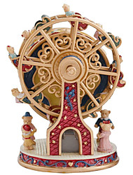 cheap -Music Box Rotating Ferris Wheel 1 pcs Gift Home Decor Resin For Kid's Adults' Boys and Girls