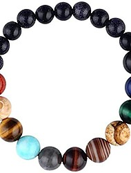 cheap -comelyjewel black lava stone 7 chakra bracelets rock bead elastic natural stones gemstones yoga beads bracelets for men women girls jewelry