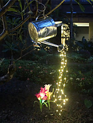 cheap -LED String Light AA Battery Power 100Led Star Fairy Lights Christmas Tree Vine String Lights 5Branch for Outdoor Home Wedding Party Holiday Garland Garden Yard Decor Lighting Warm White