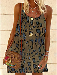 cheap -new female fashion plus size retro vacation boho style spaghetti belt v-neck retro dress