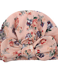cheap -new european and american baby products children's printed bow hats newborn cotton caps wholesale