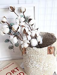 cheap -10 Cotton Dead Branches Simulation Flower Desktop Decoration 53cm