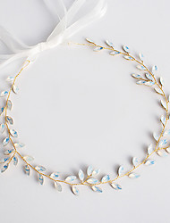 cheap -Wedding Bridal Copper wire Headbands / Headdress / Headpiece with Metal / Crystals / Rhinestones 1 PC Wedding / Party / Evening Headpiece