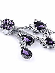 cheap -pikki bling crystal diamond car keychain key holder women handbag wallet key ring (style2-purple)