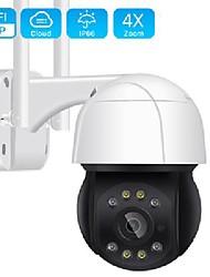 cheap -5mp wifi ptz camera h.265 3mp 4x digital zoom human detection ptz ip camera outdoor 2mp auto tracking onvif wireless ip camera