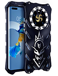 cheap -Luxury Armor Metal Aluminum Phone Case For Huawei P40 Pro P30 Pro Honor V30 Honor 30 Pro Manufacturing Cover Heavy Duty Armor Phone Protective Shell For Huawei Mate 20 lite Nova 7 se Honor Play 4T Pro