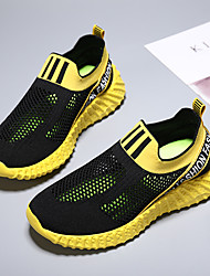 cheap -Unisex Trainers Athletic Shoes Comfort Mesh Mesh Big Kids(7years +) Daily Running Shoes Black Yellow Gray Summer