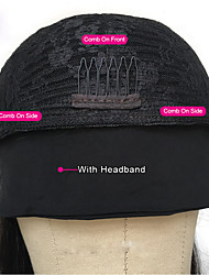 cheap -amazon new product hair band wig european and american wig female long curly hair mechanism chemical fiber headgear headband wig