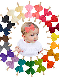 cheap -factory direct sales korean fashion hot style non-woven fabric exquisite trendy bowknot children's hair tie hair with headdress headband