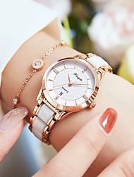cheap -Women's Quartz Watches Analog Quartz Glitter Elegant Creative / Ceramic / Japanese