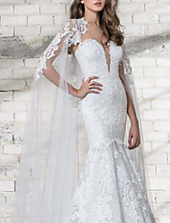 cheap -Sleeveless Elegant & Luxurious / Bridal Polyester Wedding / Party / Evening Women's Wrap With Appliques