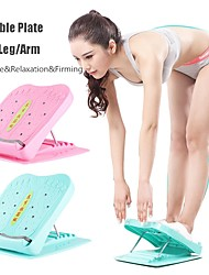 cheap -5Levels Foldable Fitness Pedal Muscle Leg Stretch Board Calf Ankle Plate Achilles Tensioning Yoga Device Foot Massage&Relaxation