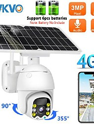 cheap -Sim Card 4G Solar IP Camera 8W Solar Panel Wifi Outdoor Ptz Camera H.265 Smart Security Monitor 3G Speed Dome 4X Zoom Camera