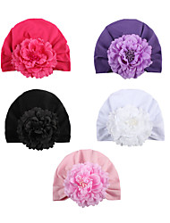 cheap -2017 european and american new artificial flower children's hat, innovative indian baby hat, baby pullover hat