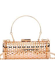 cheap -Women's Bags Evening Bag Glitter Shine Party Wedding Party Birthday Handbags Chain Bag MessengerBag Champagne Gold
