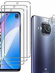 cheap -3PACK Phone Tempered Glass Protective Film For Xiaomi Mi 10T Mi 11 +3PACK Camera Len Film 9H Hardness Anti-Scratch Tmpered Glass Film For Mi 10T Lite Redmi Note 9T Poco X3 NFC Note 10 Lite
