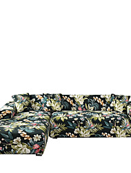 cheap -Sofa Cover Dustproof Stretch Slipcovers Stretch Super Soft Fabric Couch Cover Fit for 1to  4 Cushion Couch and L Shape Sofa (You will Get 1 Throw Pillow Case as free Gift)
