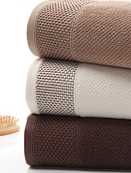 cheap -Superior Quality Bath Towel, Solid Color Cotton 1 pcs